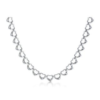 Колье Continious Open Heart Necklace