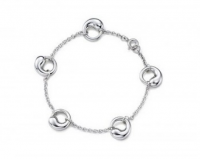 Браслет Elsa Peretti Sterling Eternal Circle Charm Bracelet