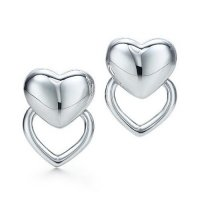 Серьги Double Heart Earrings
